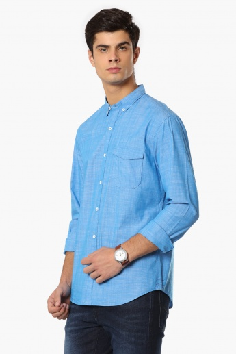 MAX Slim Fit Button Down Collar Shirt