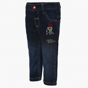 MAX Denim Solid Jeans