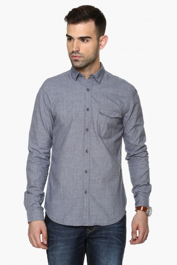 MAX Slim Fit Full Sleeves Shirt