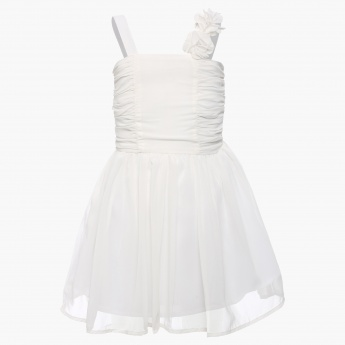 MAX Solid Strappy Princess Dress