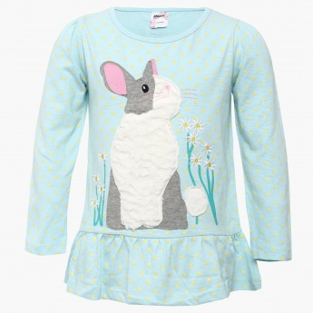 MAX Bunny Patch Top
