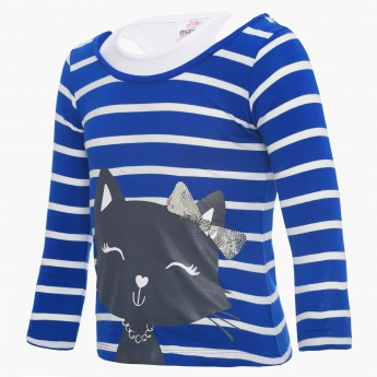 MAX Sequined Kitty Top