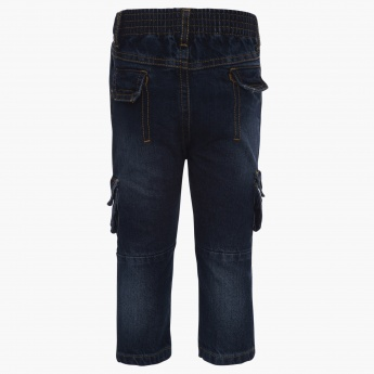 MAX Panelled Regular Fit Jeans