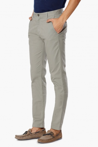 MAX Solid Slant Pockets Pants