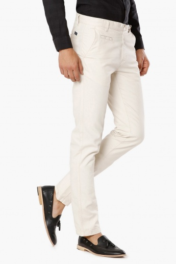 MAX Solid Five Pocket Pants