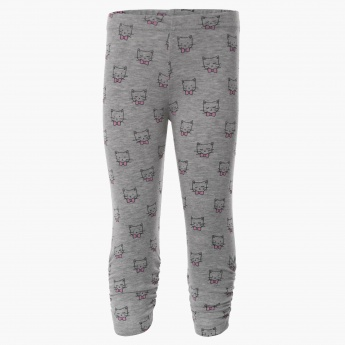 MAX Kitty Face Leggings