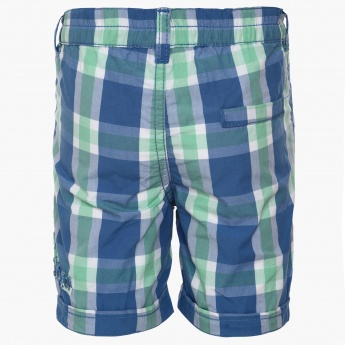 MAX Casual Check Shorts