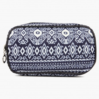 MAX Aztec Print Pouch - Set Of 3