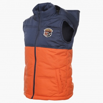 MAX Hooded Sleeveless Jacket