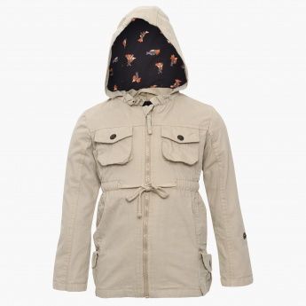 MAX Pocketed Hooded Jacket