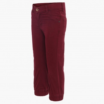 MAX Solid Elasticated Ankle Pants