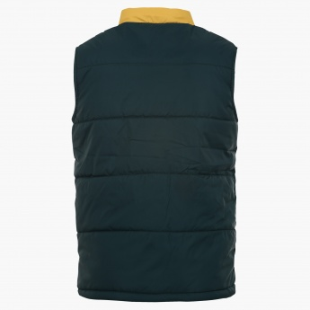 MAX Quilted Sleeveless Jacket