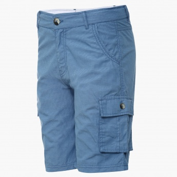 MAX Solid Side Pocketed Bermudas