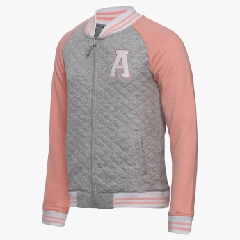MAX Quilted Zip-Up Sweatshirt