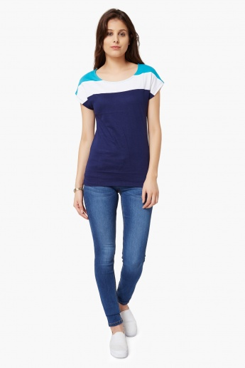 MAX Colour Block T-Shirt
