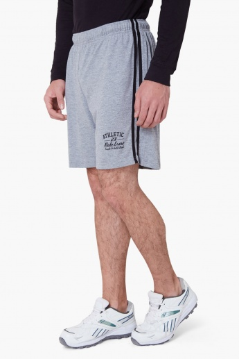 MAX Striped Side Panel Shorts