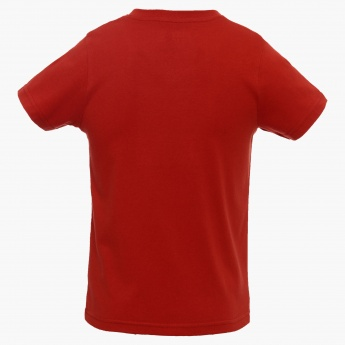 MAX Chest Imprint V-Neck T-Shirt
