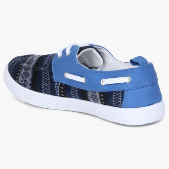 MAX Canvas Boat Shoes
