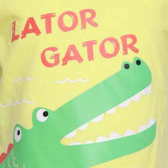 MAX Alligator Print T-Shirt
