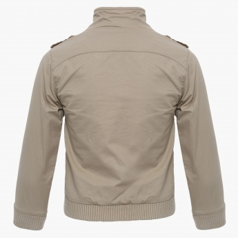 MAX Solid Pocketed Jacket