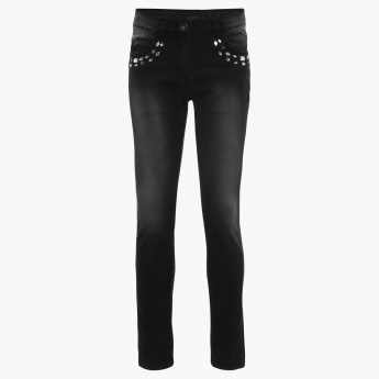 MAX Embellished Slim Fit Jeans