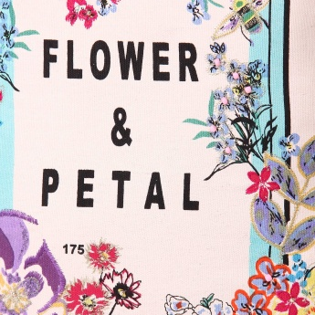 MAX Flower & Petal Tote Bag