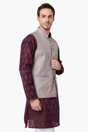 MAX Pocketed Nehru Jacket