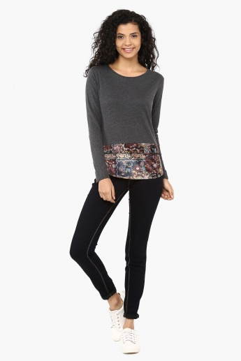 MAX Round Neck Full Sleeves Top