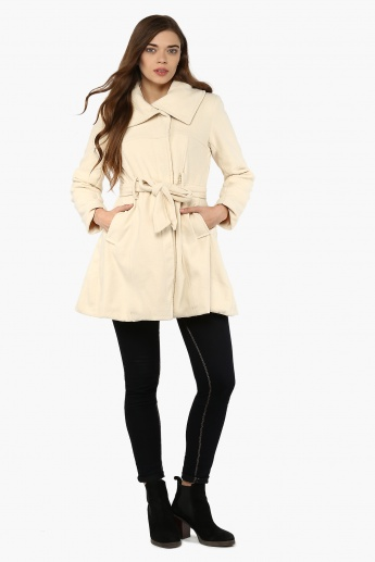 MAX Solid Trench Coat