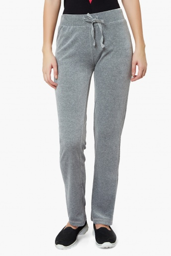 MAX Solid Velvety Trackpants
