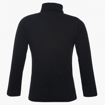 MAX Turtle Neck Full Sleeves Top
