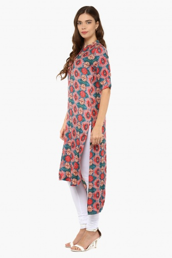 MAX Printed Hi-Low Kurta