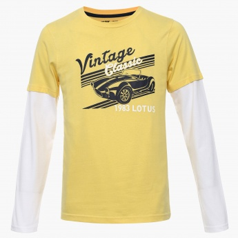 MAX Vintage Classic Full Sleeves T-Shirt
