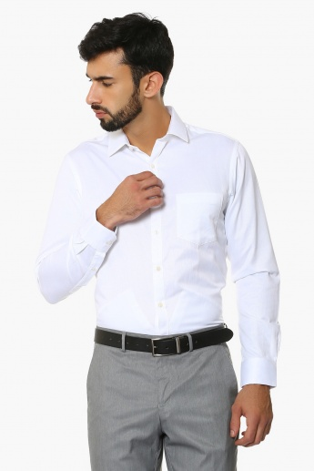 0a9db19dbde MAX Solid Slim Fit Shirt