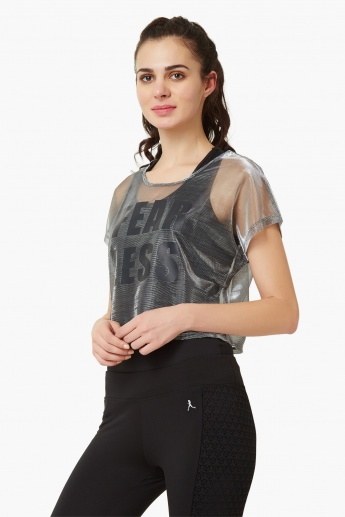 MAX Fear Less Mesh Top