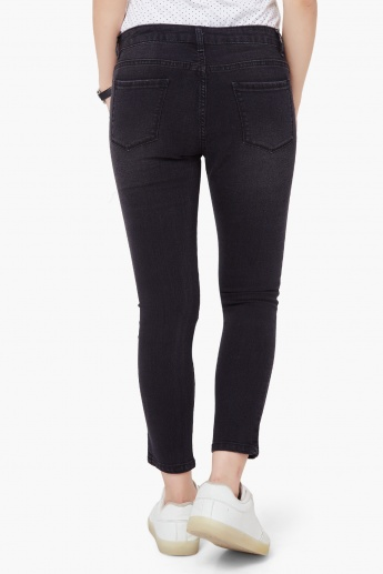 MAX Patchwork Slim Fit Jeans
