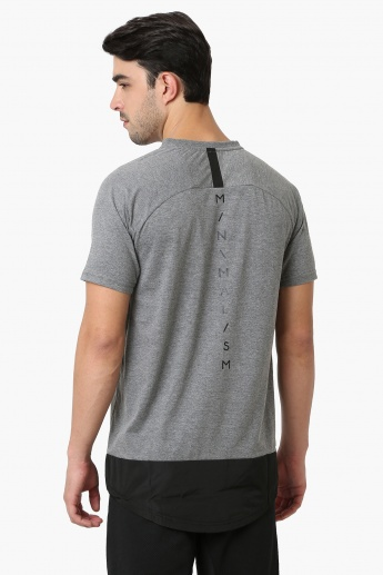 MAX Pocket Detail Half Raglan Sleeves T-Shirt