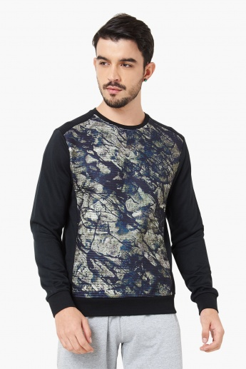 MAX Printed Crew Neck Sweatshirt
