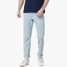 MAX Solid Low Rise Regular Fit Jeans