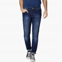 MAX Stonewashed Low Rise Regular Fit Jeans