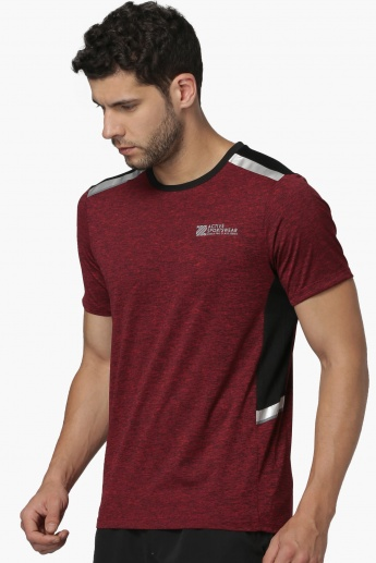 MAX Contrast Trim Crew Neck Training T-Shirt