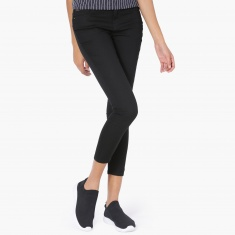 MAX Slim Fit Cropped Pants