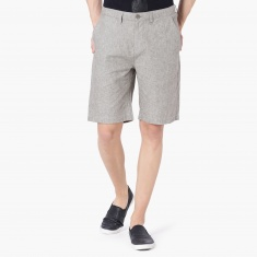MAX Textured Casual Shorts