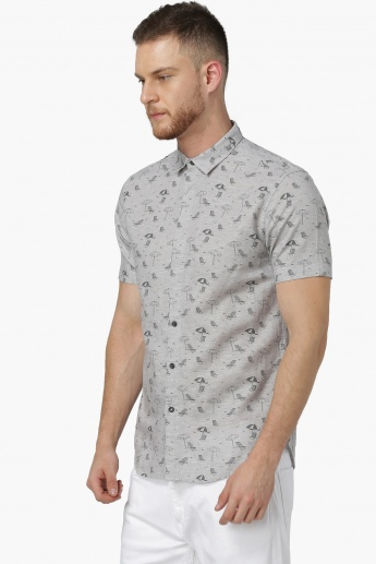 MAX Printed Short Sleeves Shirt