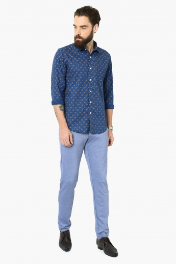 MAX All-Over Print Full Sleeves Slim Fit Shirt