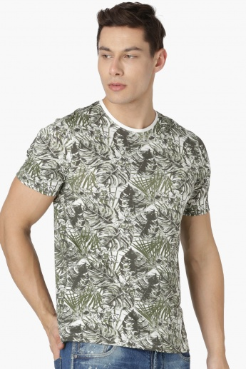 MAX Densely Print Crew Neck T-Shirt