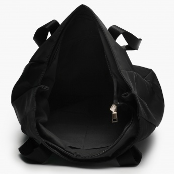 MAX Zip Accent Windcheater Handbag