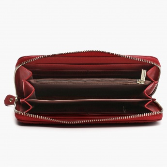 MAX Ribbed Zip-up Wallet