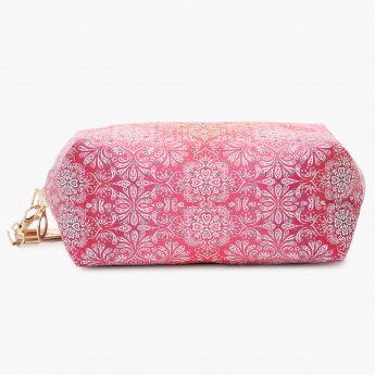 MAX Printed Ombre Zip-up Toilet Case