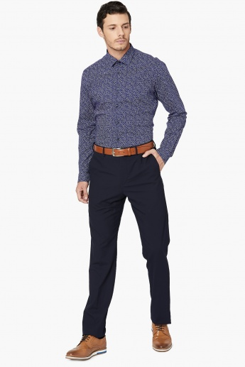 MAX Printed Slim Fit Formal Shirt